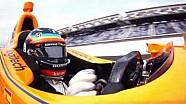 Les tours de qualification de Fernando Alonso en caméra embarquée