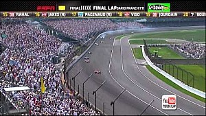 2012 Indy 500 finish