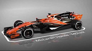 F1 McLaren Honda MCL32
