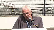 101st Indianapolis 500 Public drivers meeting