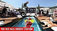Red Bull feestje op het Energy Station in Monaco