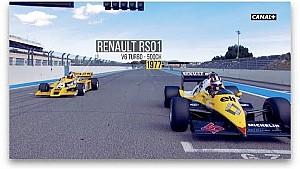 Regreso al futuro: Nico Hülkenberg en un Renault F1 de 1977