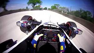 IndyCar-Helmkamera in Detroit