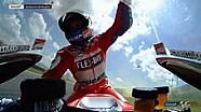 Andrea Dovizioso rayakan kemenangan di Mugello