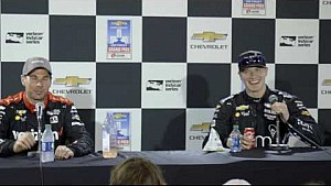 Chevrolet Detroit Grand Prix race 2 news conference: Power and Newgarden