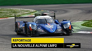 ¡Romain Dumas presenta su Alpine LMP2 en video !