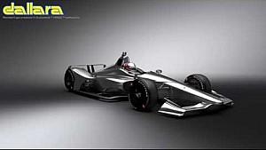 Het IndyCar-chassis voor 2018