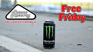 Pocono and Monster team up to bring fans 'Free Friday'