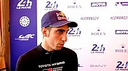 24 uur van Le Mans: Interview Sébastien Buemi