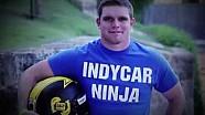 Conor Daly doet mee aan American Ninja Warrior