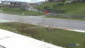 Kecelakaan Lowes di kualifikasi Sachsenring