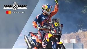 Dakar rally winner Sam Sunderland wows at FOS
