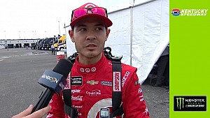 Larson misses qualifying at Kentucky