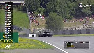 Avusturya GP - Magnussen Yolda Kaldı