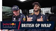 Terugblik Max en Ricciardo op Grand Prix van Groot-Brittannië
