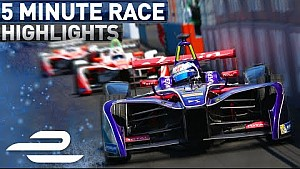 Qualcomm New York City ePrix race highlights - Formula E - Race 2 (Sunday)