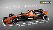 McLaren's British GP Updates