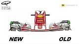 Эволюция переднего крыла Ferrari – ГП Австрии