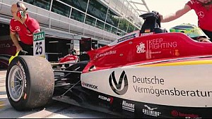 Mick Schumacher talks about downforce