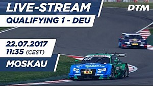 DTM Moskau: 1. Qualifying