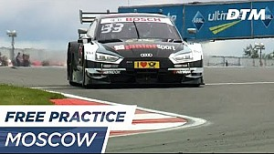 Top 3 Free practice 2 - DTM Moscow 2017