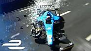 Sébastien Buemi crash op Montréal ePrix
