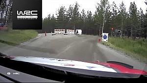 Rally Finland 2017: Shakedown onboard Meeke