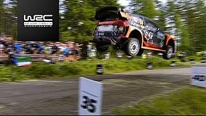 Rally Finlandia 2017: Mads Østberg 50 metros
