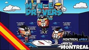La carrera 2 del ePrix de Montreal 2016/2017, por 'Los MinEDrivers'