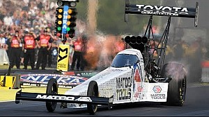 Antron Brown powers to the top in Seattle