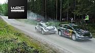 Rallye Finnland: Analyse, Evans vs. Ogier