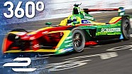 Lucas di Grassi race day in 360°! (Round 11 - Formula E Montreal)