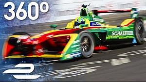 Lucas di Grassi carrera en 360°! (Fecha 11 - Fórmula E Montreal)
