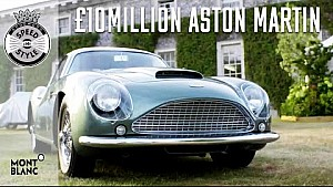 The £10million Aston Martin DB4 Zagato is elegant and rare