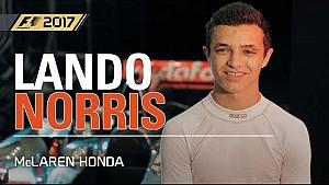Ландо Норріс тестує McLaren Gameplay - F1 2017