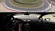 Lamborghini Accademia tutorial video: braking technique at Mugello with Huracán Performante