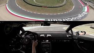 Lamborghini Accademia tutorial video: braking technique at Mugello with Huracán Performante