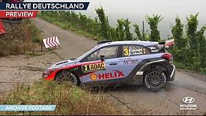 Rally de Alemania, previo - Hyundai Motorsport 2017