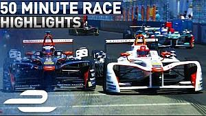 Qualcomm New York city ePrix 2017 (Round 10) extended highlights - Formula E