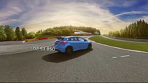Tame the track - Focus RS 360 Gamescom VR challenge