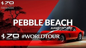 70 Years celebrations – Pebble beach concours, August 17 – 20 2017