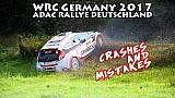 Rallye Deutschland: Crashs & Fehler