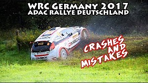 WRC Germany 2017 crashes & mistakes