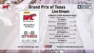 PWC 2017 Grand Prix of Texas CBS promo