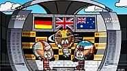 El GP de Bélgica 2017 de F1 por los geniales MiniDrivers