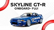 Calsonic onboard! Epic R32 Skyline GT-R (1990) : Onboard cam @ Fuji speedway