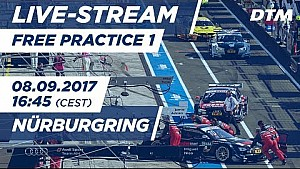 DTM Nürburgring: 1. Training