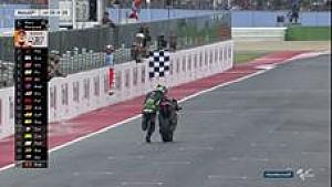 MotoGP: Zarco finis dengan mendorong motornya