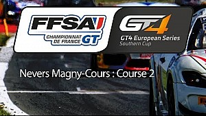Championnat de France FFSA GT - GT4 European series Southern cup : Nevers Magny-Cours - Course 2
