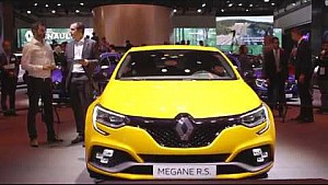 Discover the new Megane R.S. at Frankfurt with our experts.